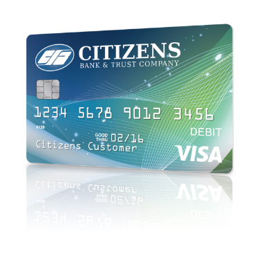 pay for anything and get cash anytime anywhere - Visa Debit Card
